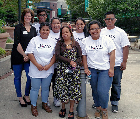 Group photo of Pacific Islanders