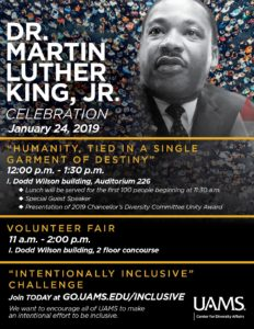 MLK Celebration update